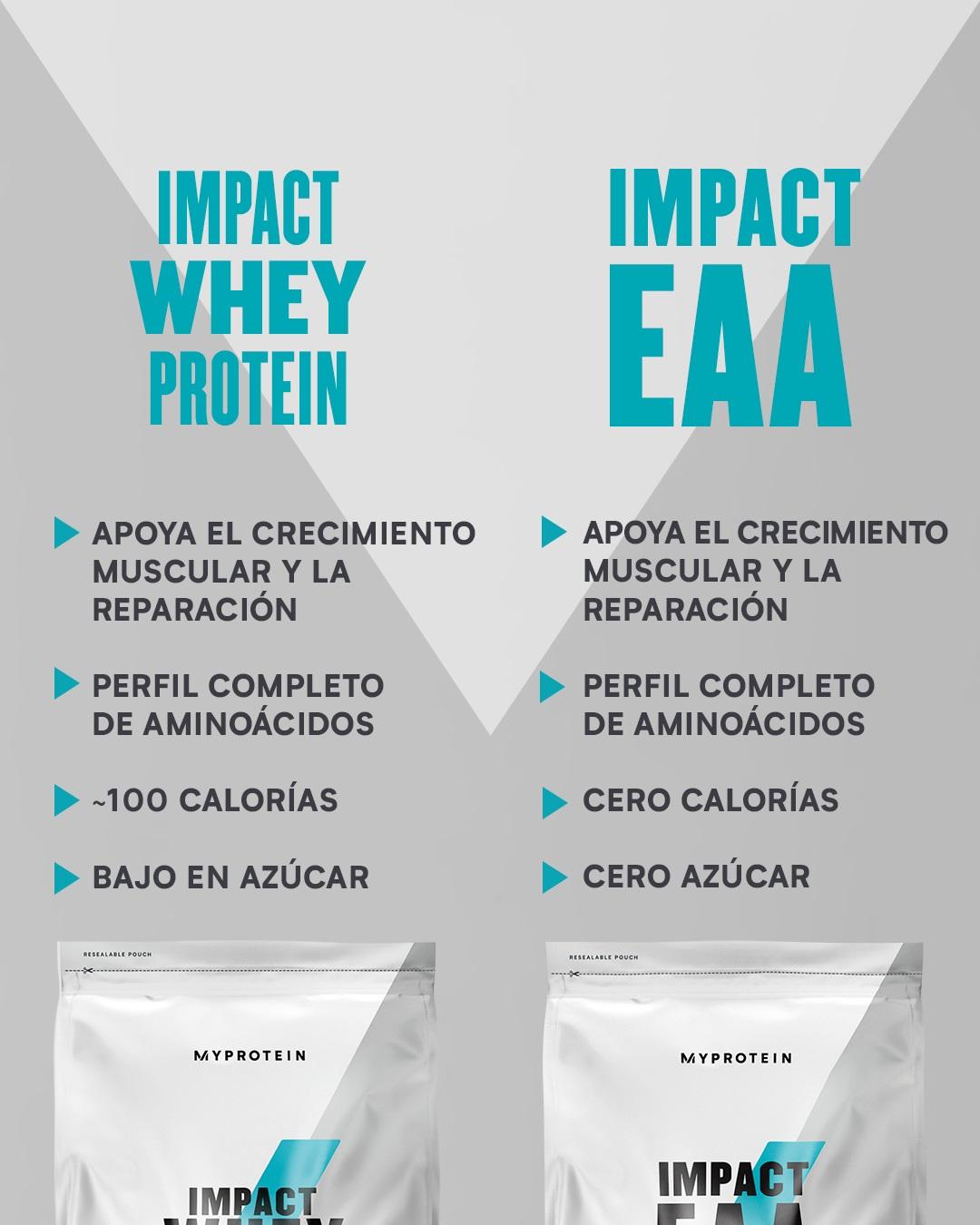 Impact Whey Protein o Impact EAA