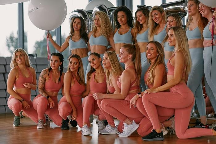 chicas myprotein