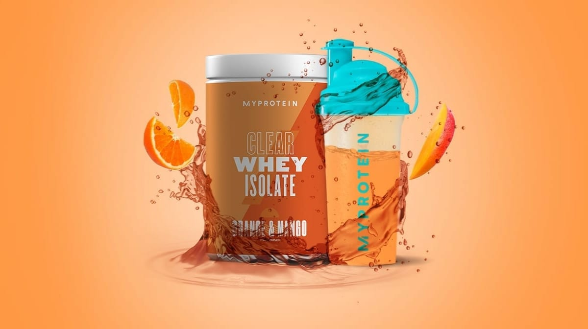 Proteína deliciosa y refrescante | Descubre la nueva Clear Whey Isolate