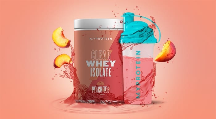Clear Whey Isolate Té de Melocotón