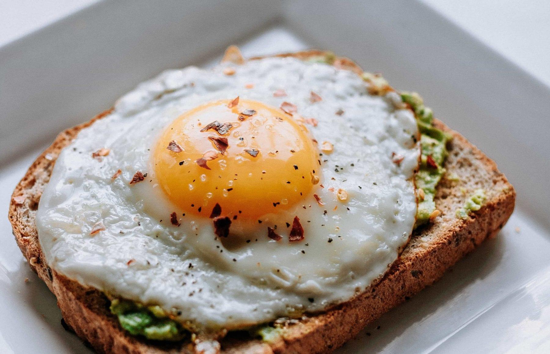 uovo per aumento di peso
