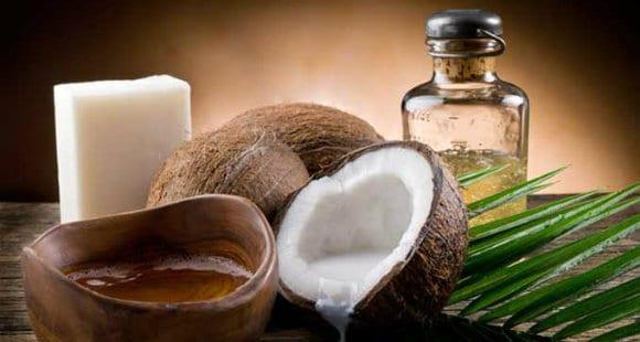 olio di cocco per uso alimentare