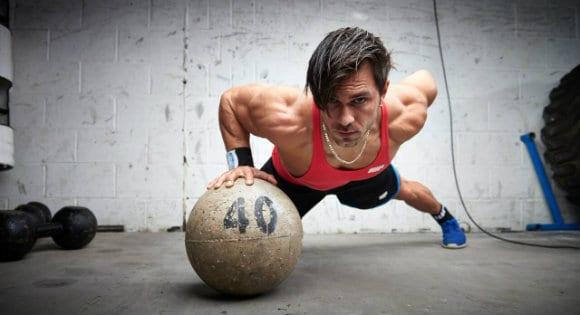 esercizi con la palla