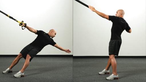 allenamento in sospensione