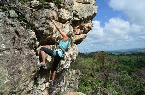 benefici dell'arrampicata