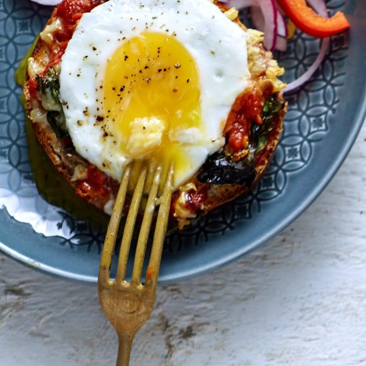 Bagel di pizza | Tempo di cucinare qualcosa di nuovo!