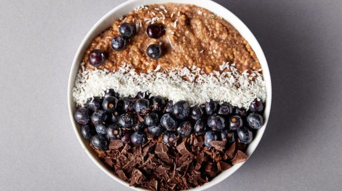 Colazione a base di quinoa e cioccolato | senza glutine