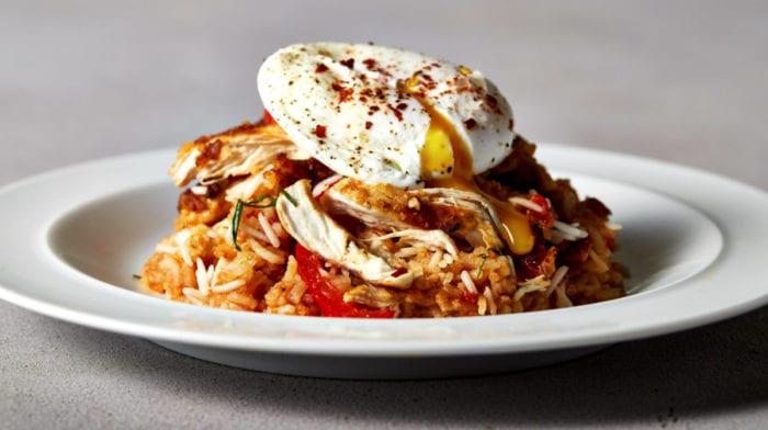 Jambalaya di Pollo Cajun |  Meal Prep