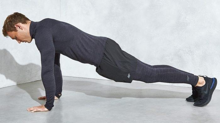 Push up plank | Come si esegue? Muscoli coinvolti, errori comuni