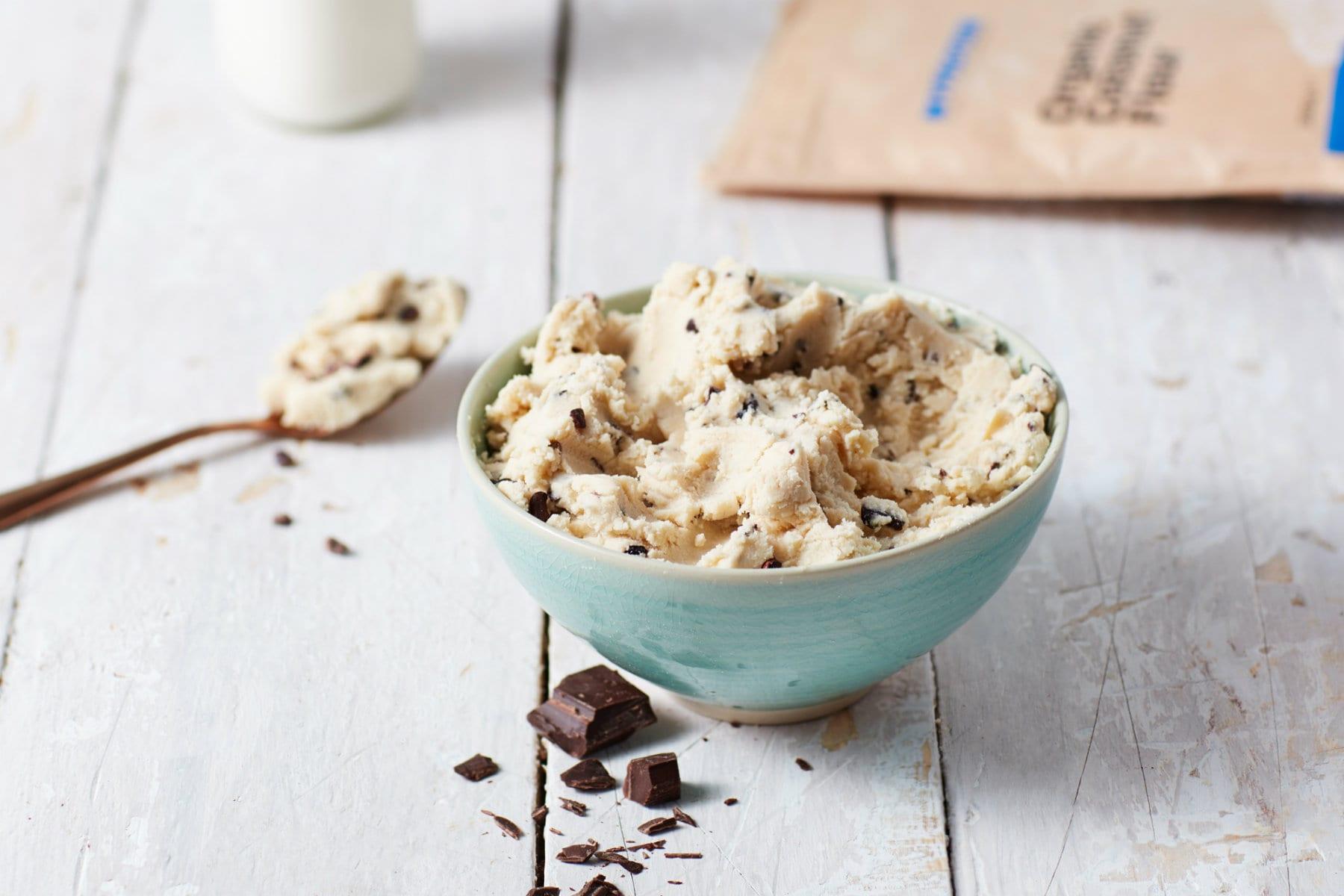 Biscotti Vegani | Ricetta per biscotti con farina di ceci e farina di cocco