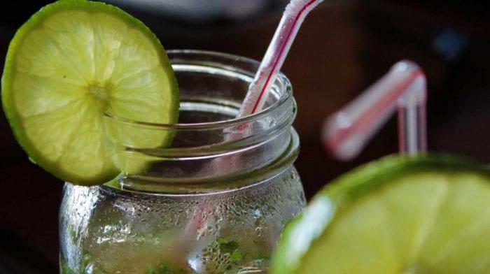 Mojito Mocktail Con BCAA (Amminoacidi ramificati) Gusto Pesca e Mango