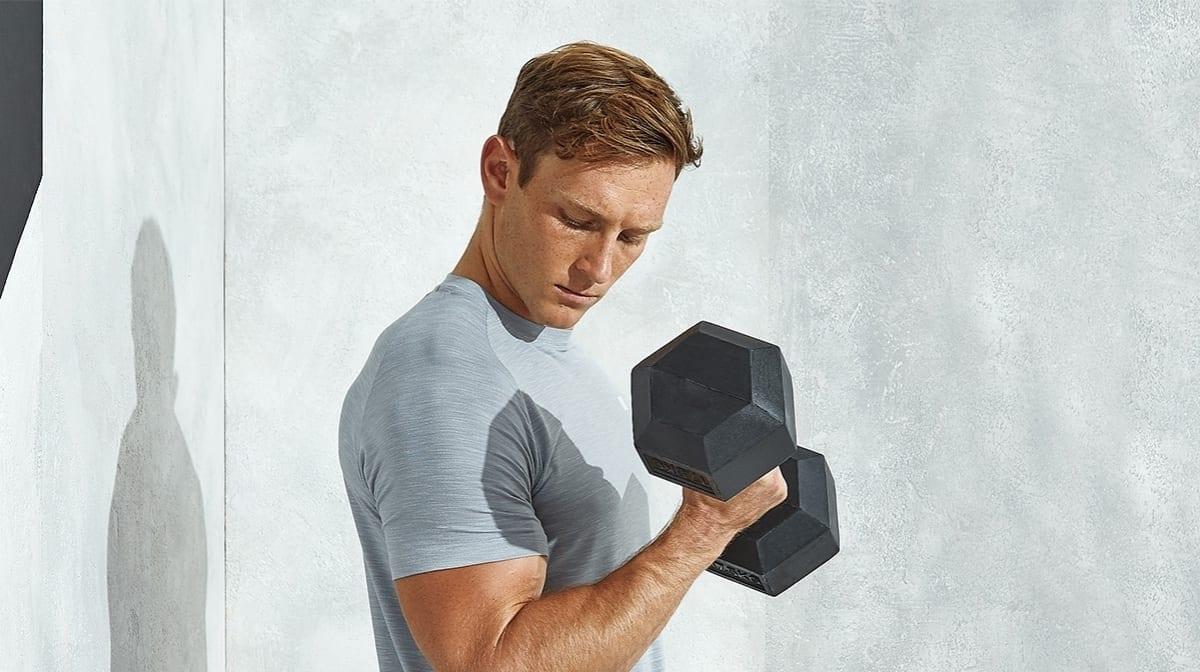 perdere peso con i pesi a mano
