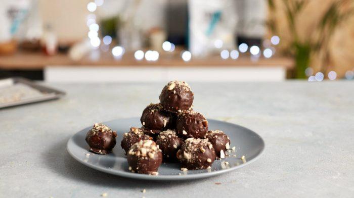 Praline al Cioccolato Proteico
