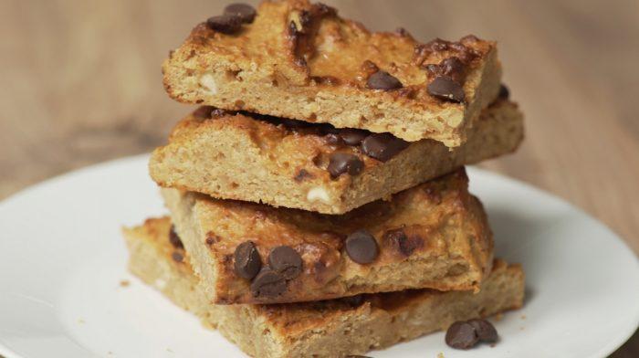 Ricetta Brownies Bianchi e Vegani | Blondies di ceci ad alto contenuto proteico