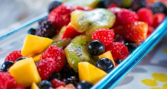 frutas sem glúten
