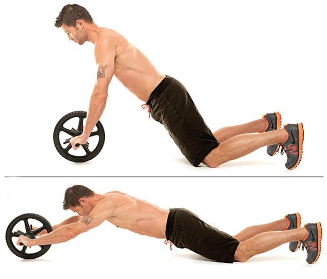 roda de abdominais
