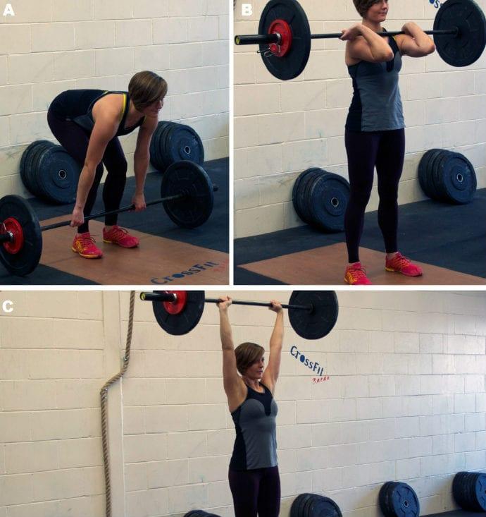 aumentar a força muscular clean and kerk