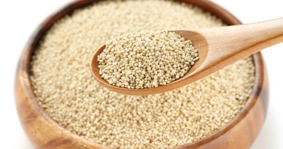 O que comer antes de correr quinoa