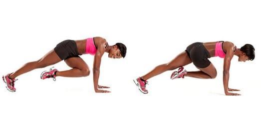 treino com peso corporal