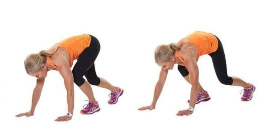 exercício com o peso corporal