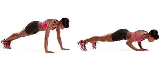 treino com o peso corporal