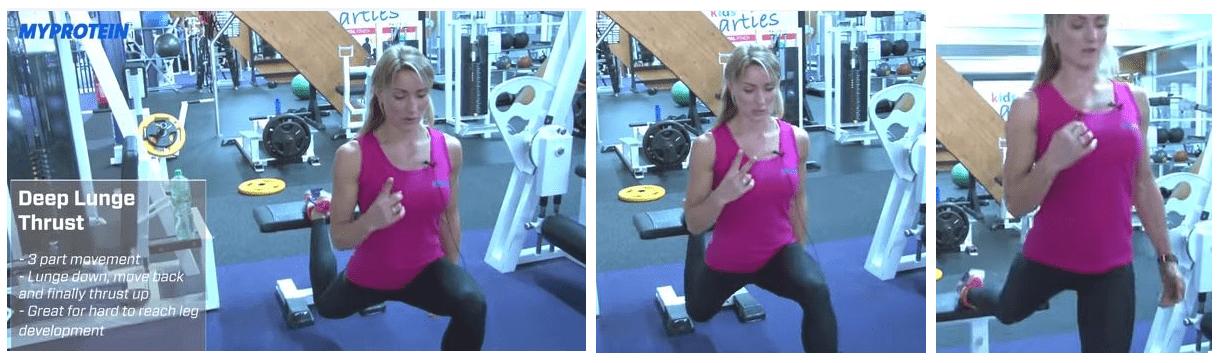 exercícios de perna