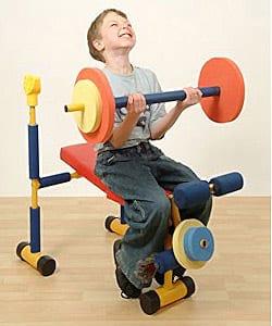 treino para criança