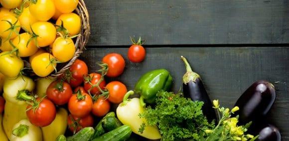 A comida orgânica