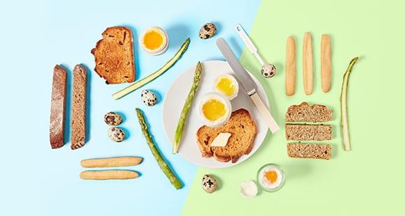 Pequeno almoço para a Páscoa | Ovos e extras