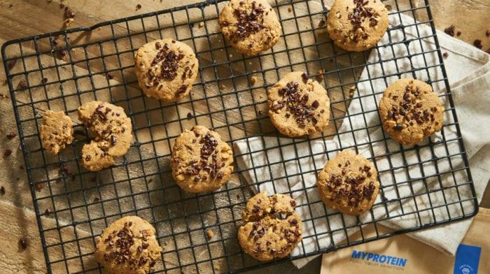 Biscoitos de Manteiga de Amendoim Sem Farinha