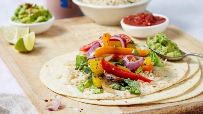 Jantar Vegan em 15 minutos | Fajitas de Portobello