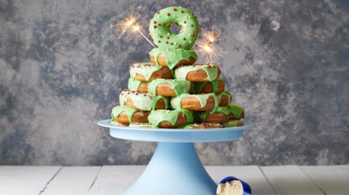 Torre de Donuts | A melhor receita proteica para o Natal!