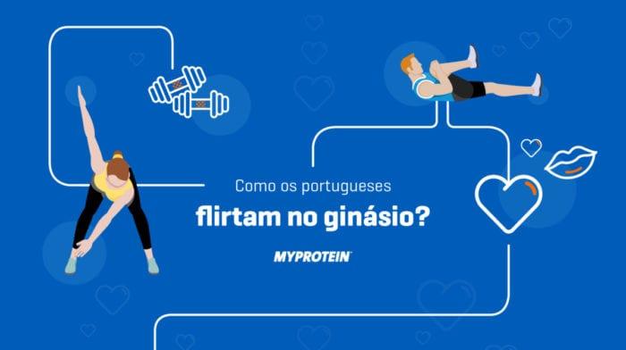 Os portugueses flirtam no ginásio? Vem daí e descobre…