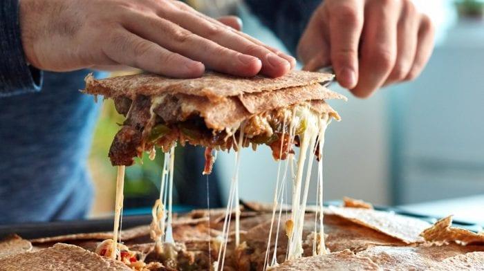 Meal Prep: Quesadilha de Frango e Bife
