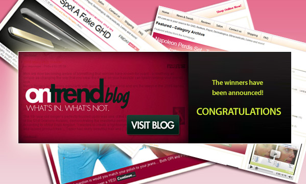 Latest OnTrend competition winners