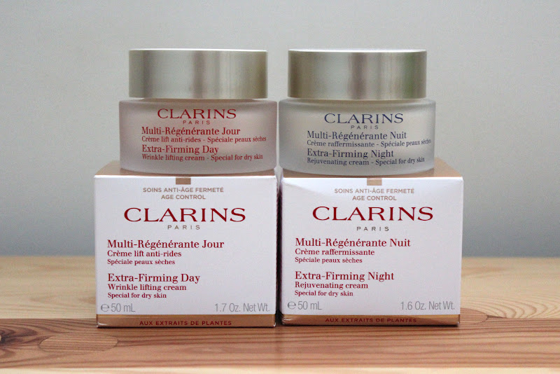 Clarins Extra-Firming Day Cream and Extra-Firming Night Cream