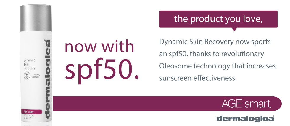 Achieve Absolute Hydration with Dermalogica Dynamic Skin Recovery SPF 50