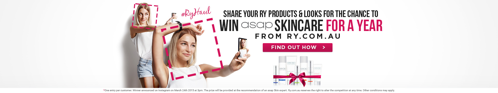 Chance to WIN a Years Worth of asap Skincare