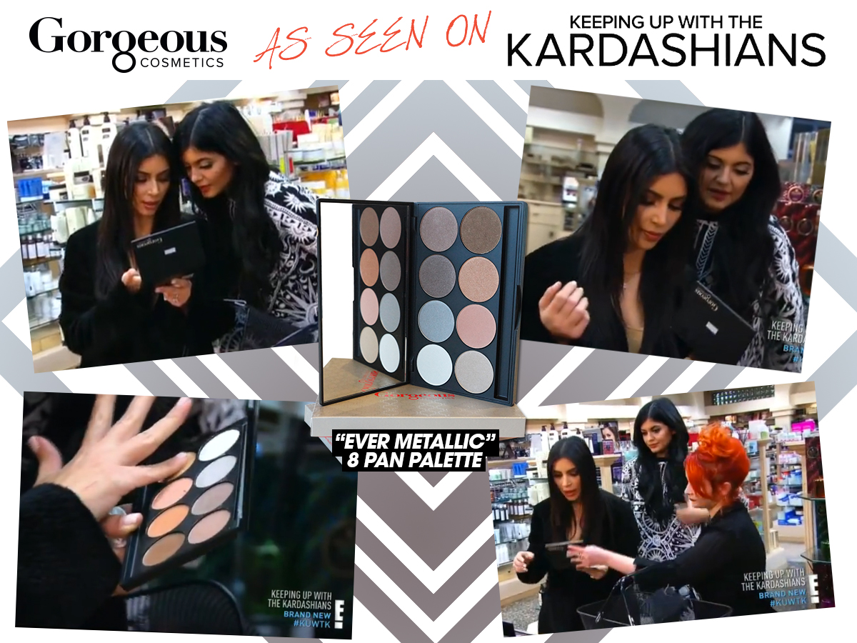 WIN Gorgeous Cosmetics as seen on #KUWTK
