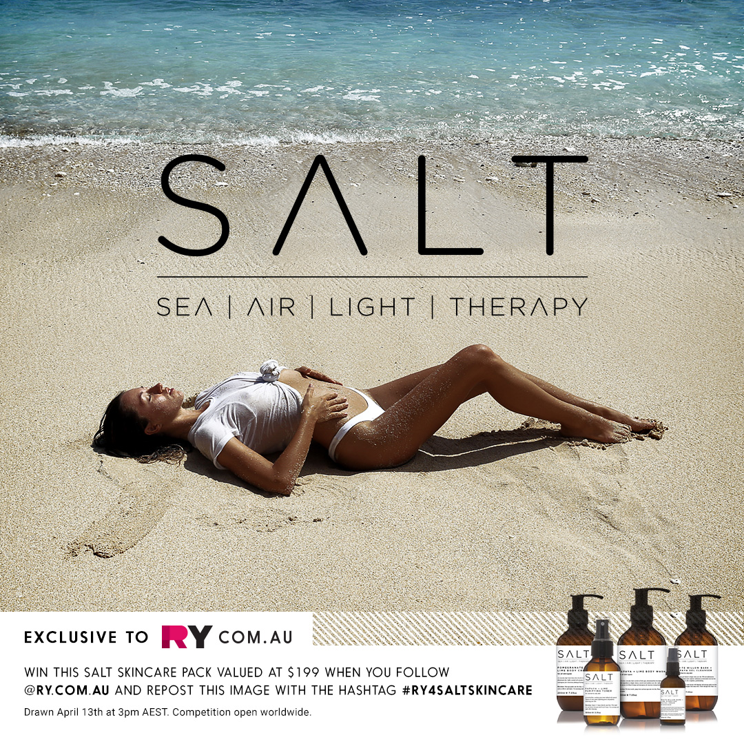 Salt Skincare launch image