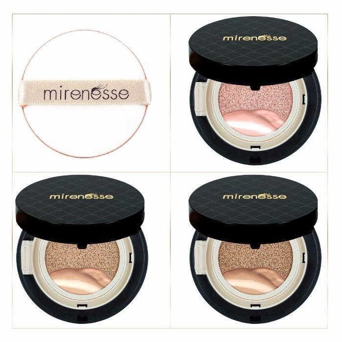 mirenesse_4_piece_starter_10_collagen_cushion_liquid_powder_and_blush_mini_pack_-_medium