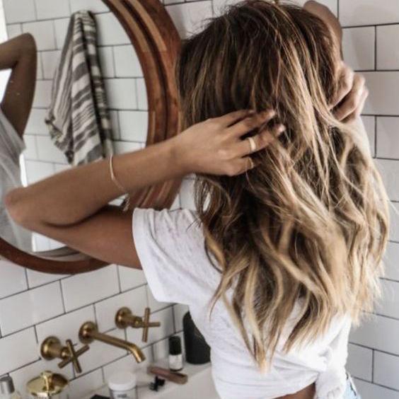Spring hair inspiration balayage