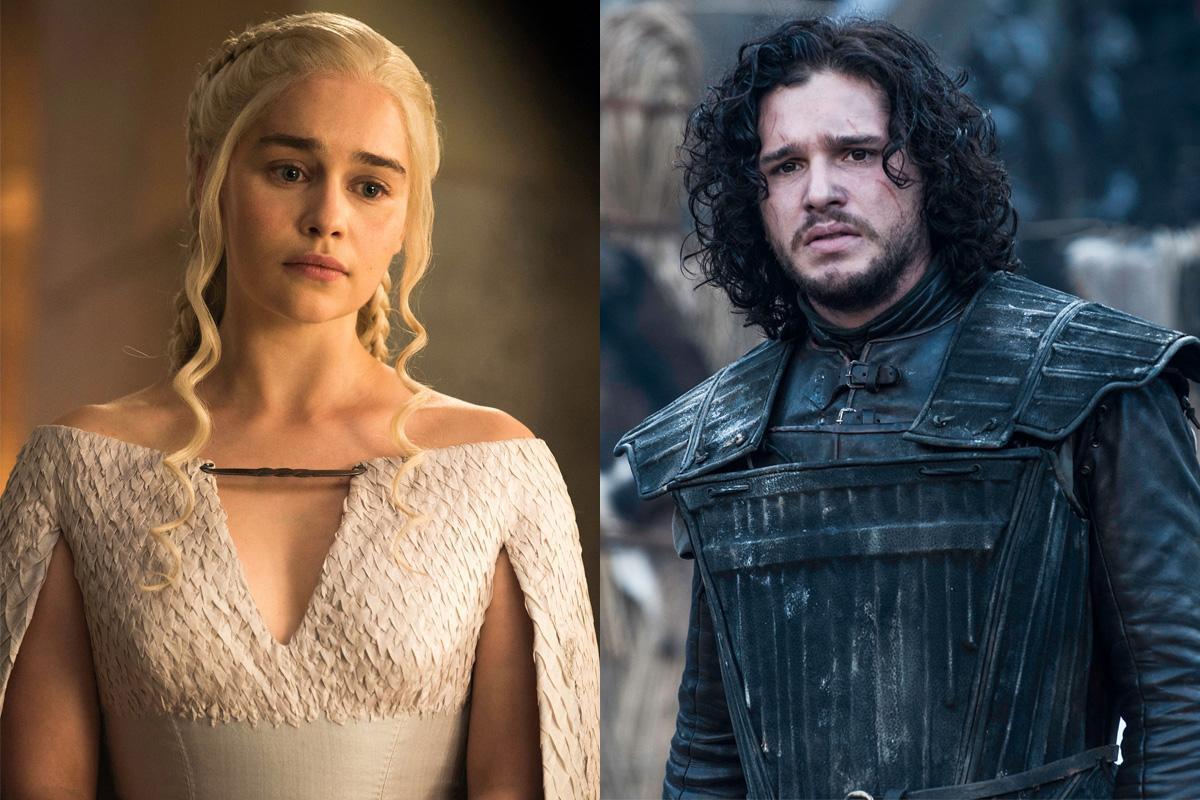 Daenerys Targaryen Jon Snow Game of Thrones Halloween costume