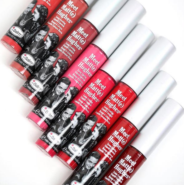 the Balm Meet Matt(e) Hughes Mini Liquid Lipsticks Kit 6 lipsticks