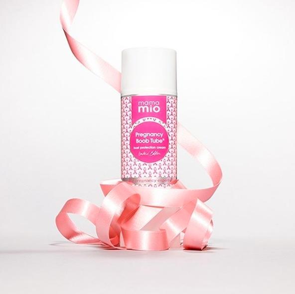 Mama Mio Pregnancy Boob Tube Breast Cancer Awareness Edition cream