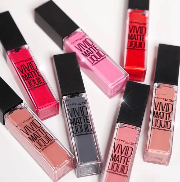 Maybelline Color Sensational Vivid Matte Liquid Lipstick Colour Sensational