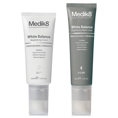 Medik8 skincare duo White Balance Day and night Cream