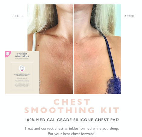 Wrinkles Schminkles Chest Smoothing Kit anti-ageing fine lines decolletage smoothing
