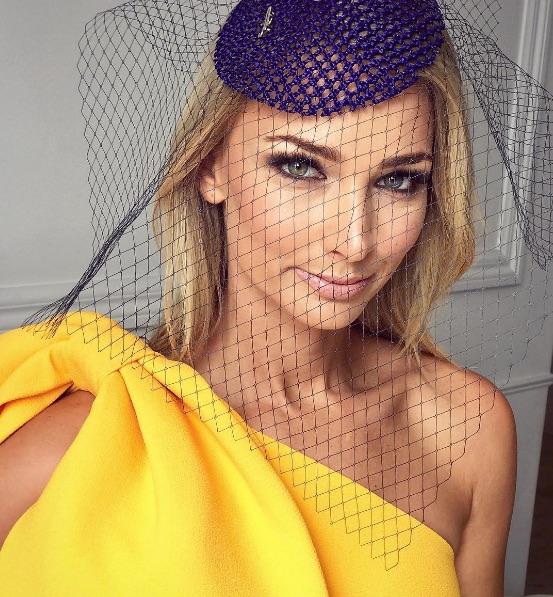 Anna Heinrich Melbourne Cup 2017 makeup look