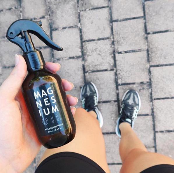 Salt Lab Magnesium Oil spray tired muscles